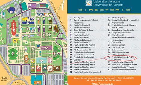 Mapa Universidad De Alicante.X Congreso Internacional Aec Clima Sociedad Riesgos Y